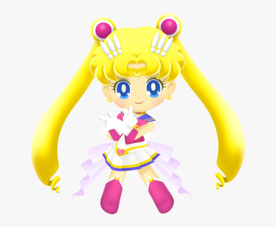 Transparent Sailor Moon Png - Sailor Drops Super Sailor Moon, Transparent Clipart