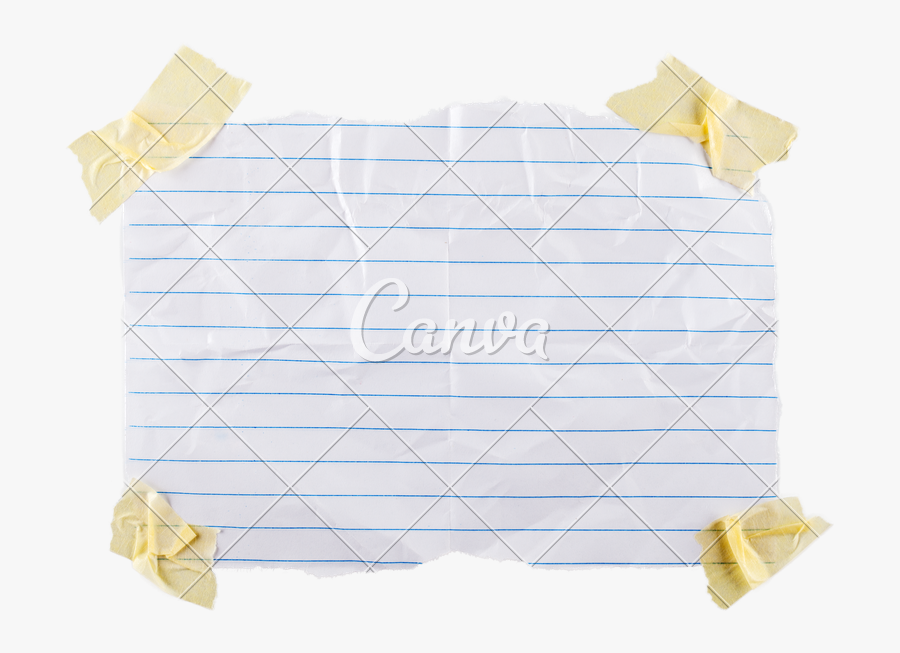 Note Clipart Piece Paper - Torn Teared Paper Png, Transparent Clipart