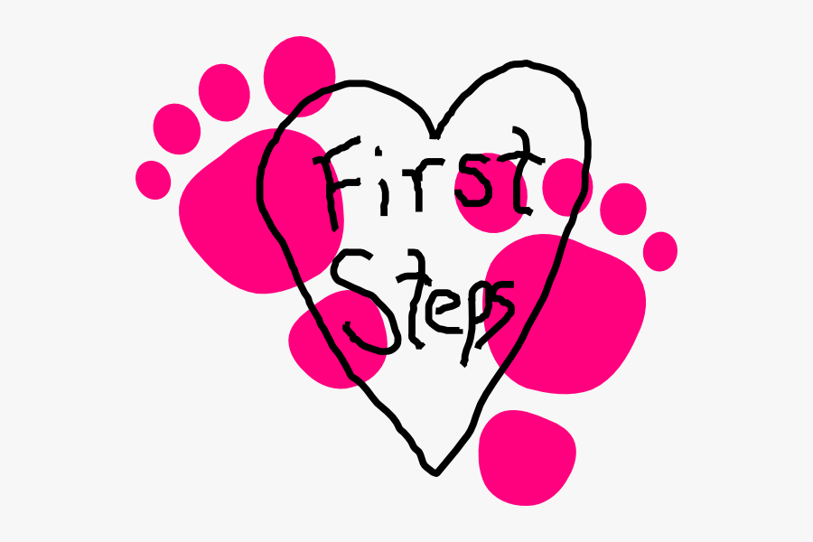 Clipart Baby First Steps, Transparent Clipart