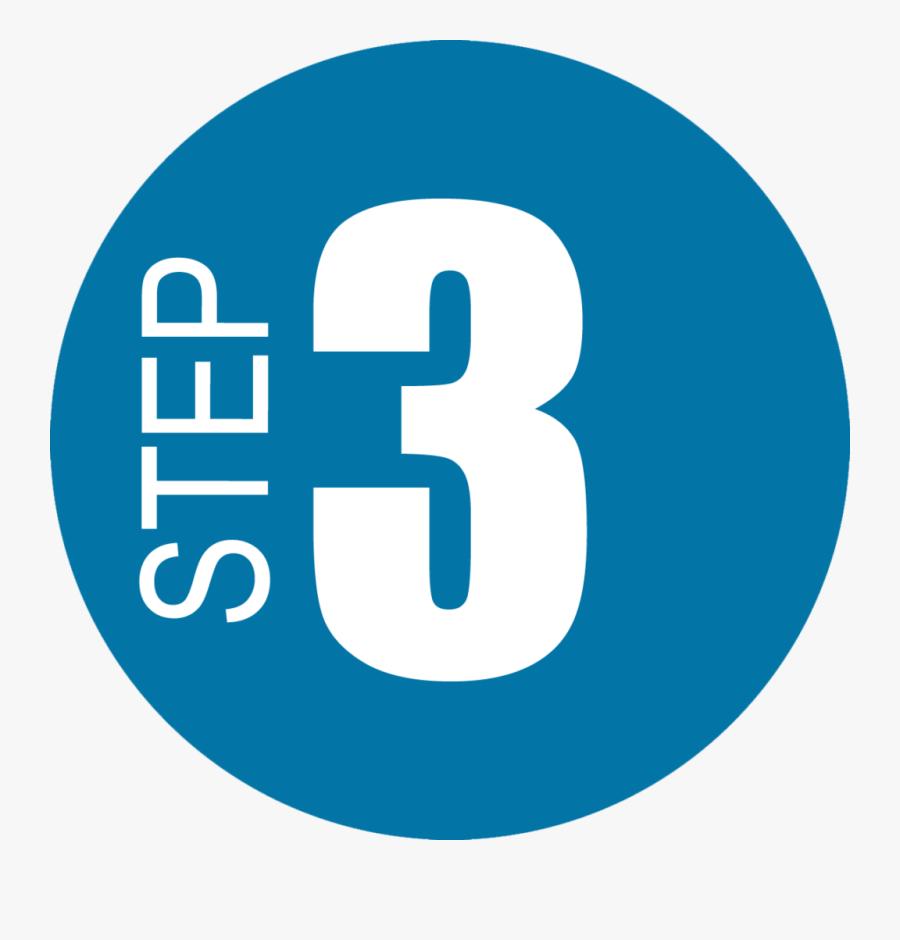 Steps 1 2 - Step 3 Clipart, Transparent Clipart