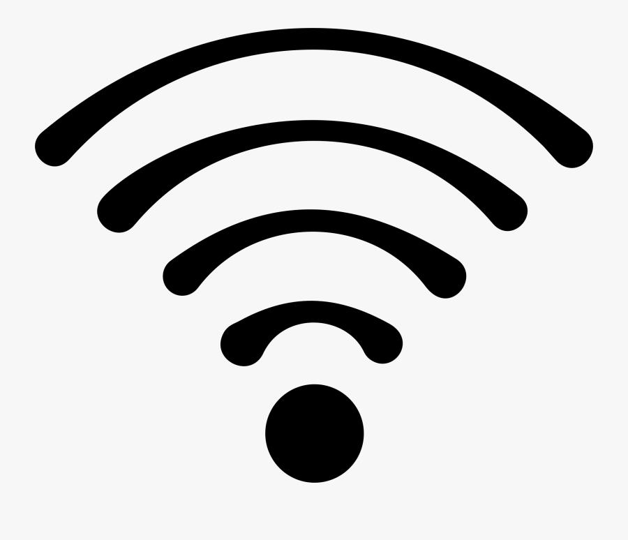 Transparent Pictures Trzcacak Rs - Black Wifi Sign Png, Transparent Clipart