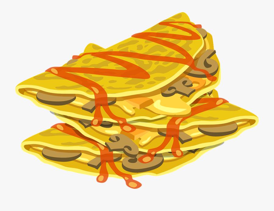 Taco Clipart Mexican Cuisine - Mexican Food Vector Png, Transparent Clipart