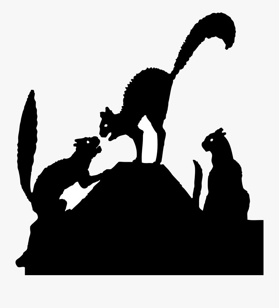 Cat Silhouette Clipart - Black Cat Silhouette, Transparent Clipart