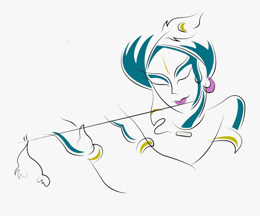 Krishna Png Free Image - Krishna Name Logo Png, Transparent Clipart