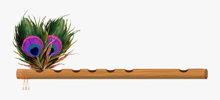 Krishna Bansuri Logo Png - Shree Krishna Flute Png, Transparent Clipart