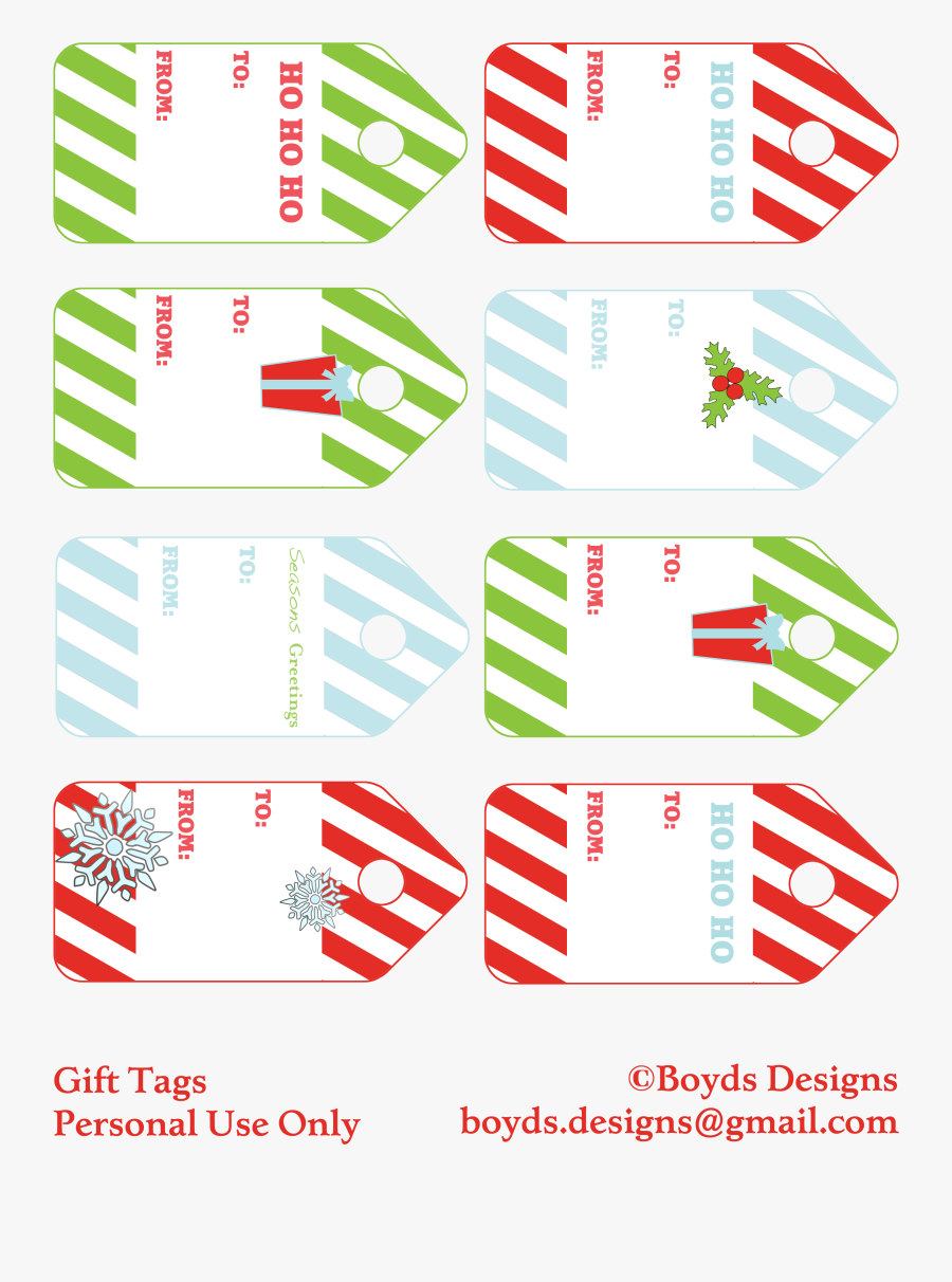 Gifts Clipart Printable - Diy Gift Tags Free Printable Christmas, Transparent Clipart