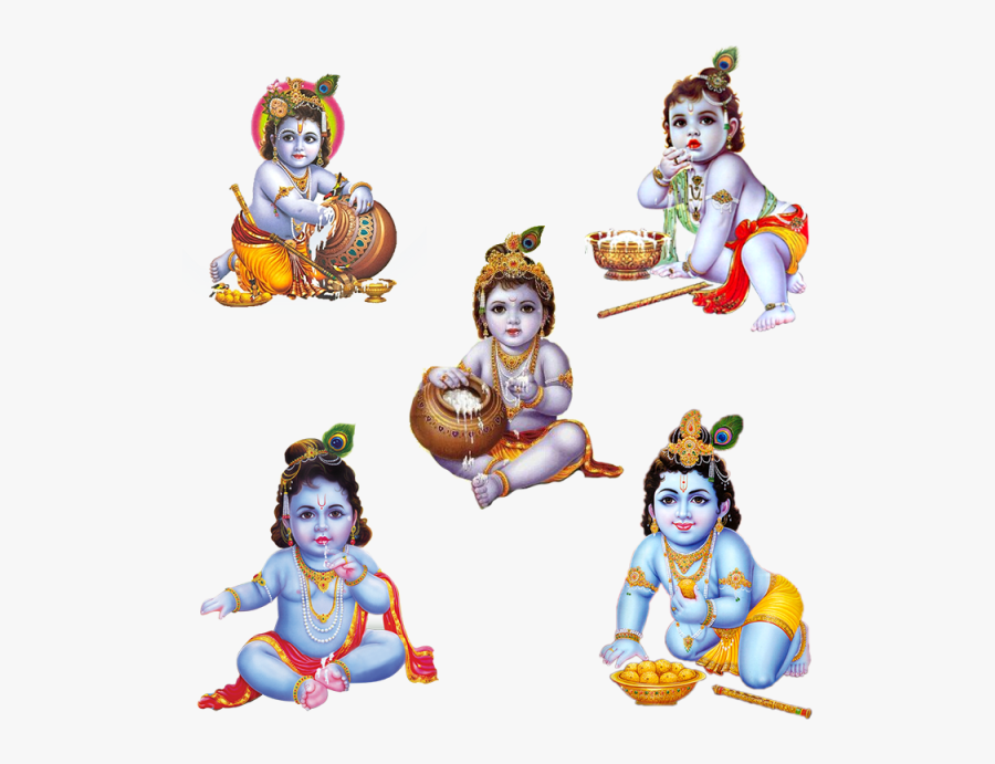 Transparent Krishna Png - Happy Krishna Janmashtami 2019, Transparent Clipart