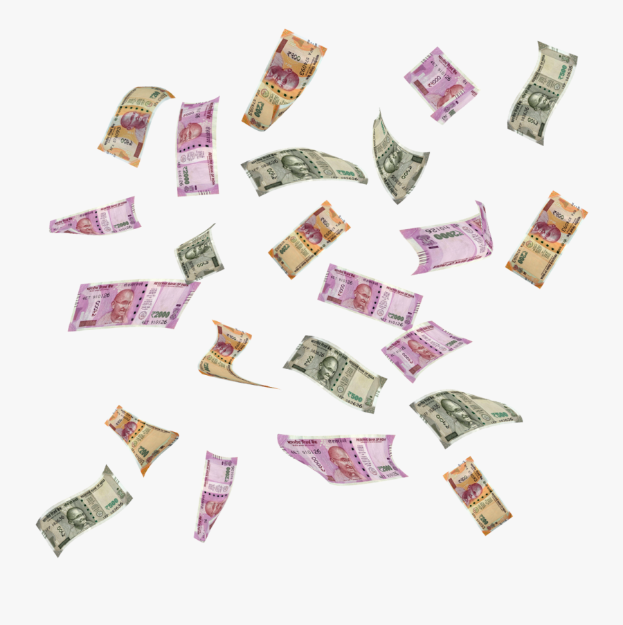 Indian Money Flying Png Free Transparent Clipart Clipartkey