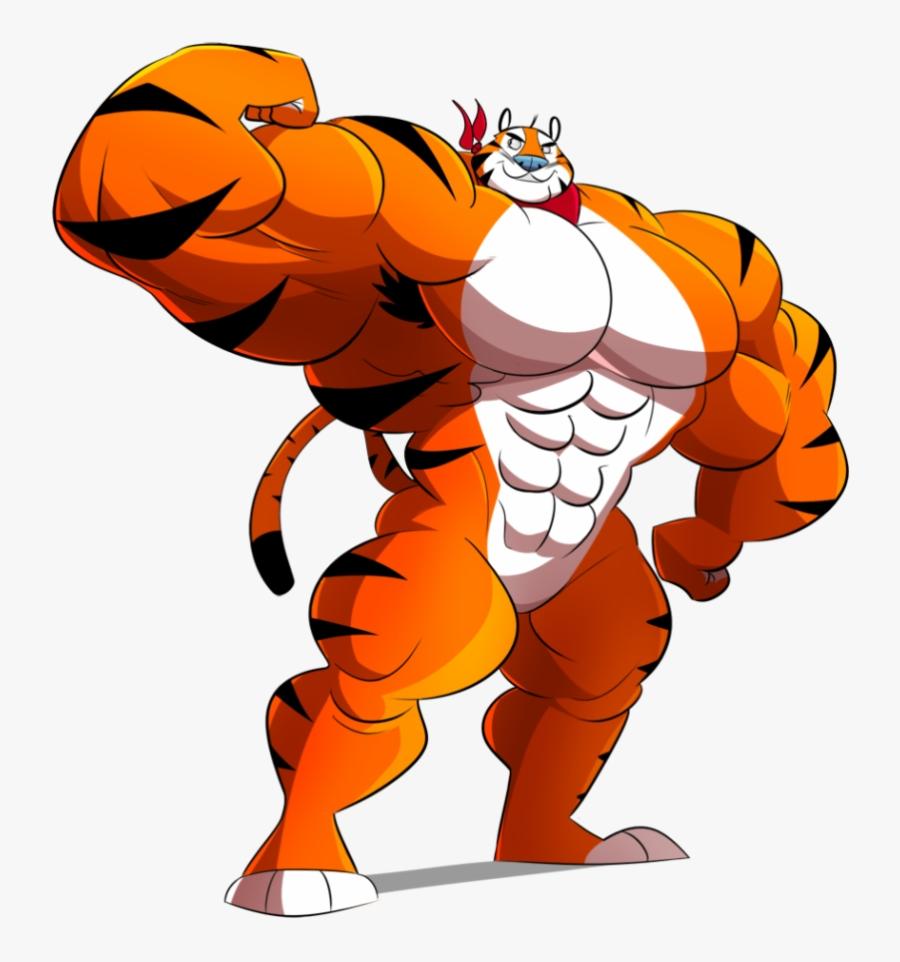 Tiger Tony The Clipart Sexy Transparent Png - Tony The Tiger X Chester Cheetah, Transparent Clipart