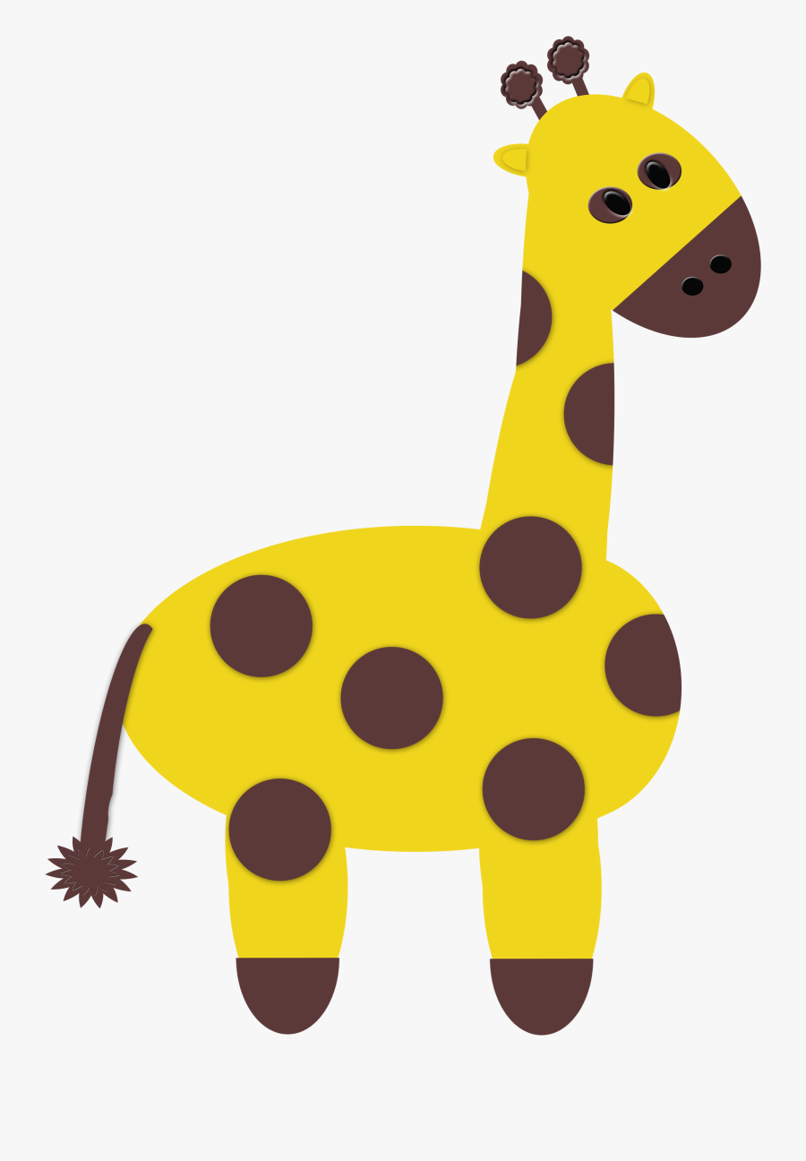 Free Png Zoo Animals - Giraffe, Transparent Clipart