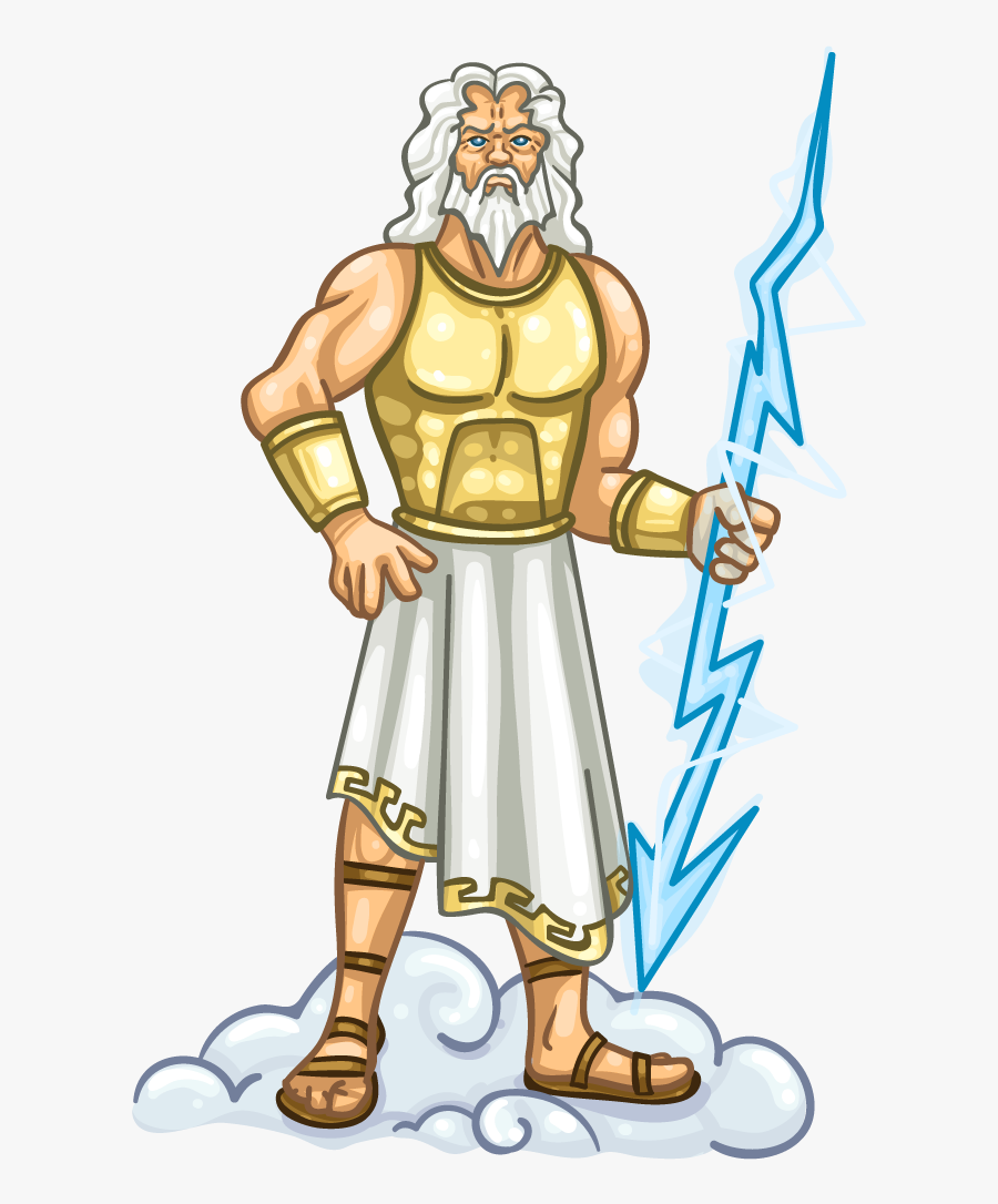 Transparent Zeus Png - Transparent Background Zeus Transparent, Transparent Clipart