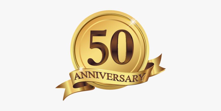 Clip Art 50th Anniversary Symbol - 50 Th Anniversary Logo, Transparent Clipart