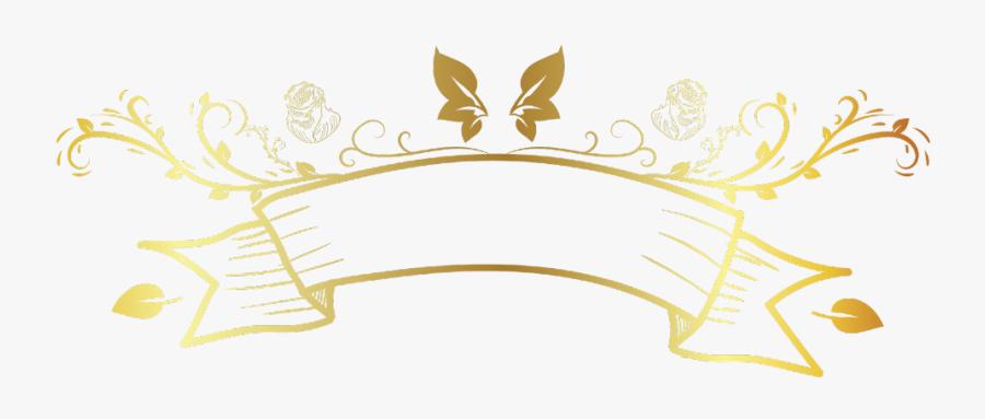 #banner #gold #divider #header #textline #line #lines - Line Border Gold Png, Transparent Clipart