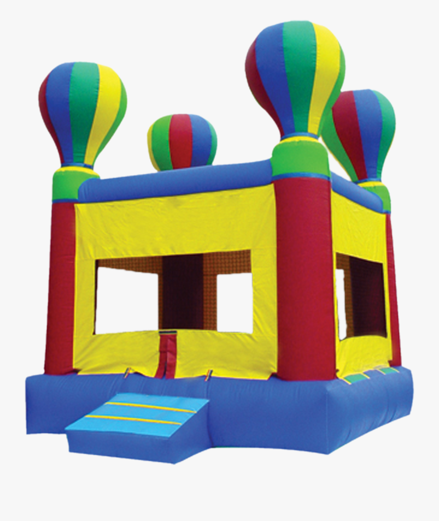 Graphic Black And White Library Riverside House Rental - Hot Air Balloon Bounce House, Transparent Clipart