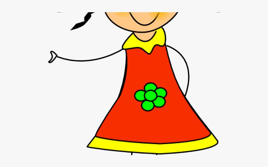 Little Girl Clipart - Doll Clip Art, Transparent Clipart