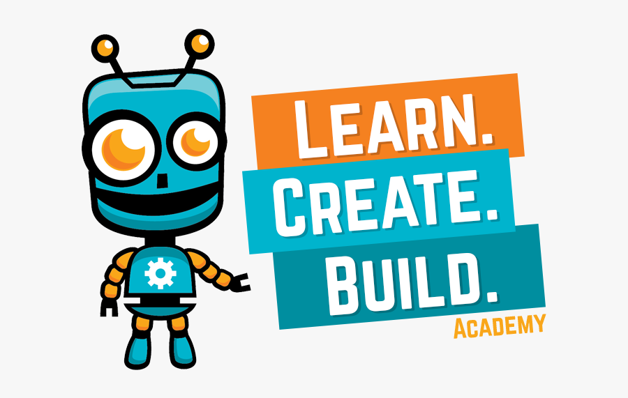 Learn Create Build, Transparent Clipart