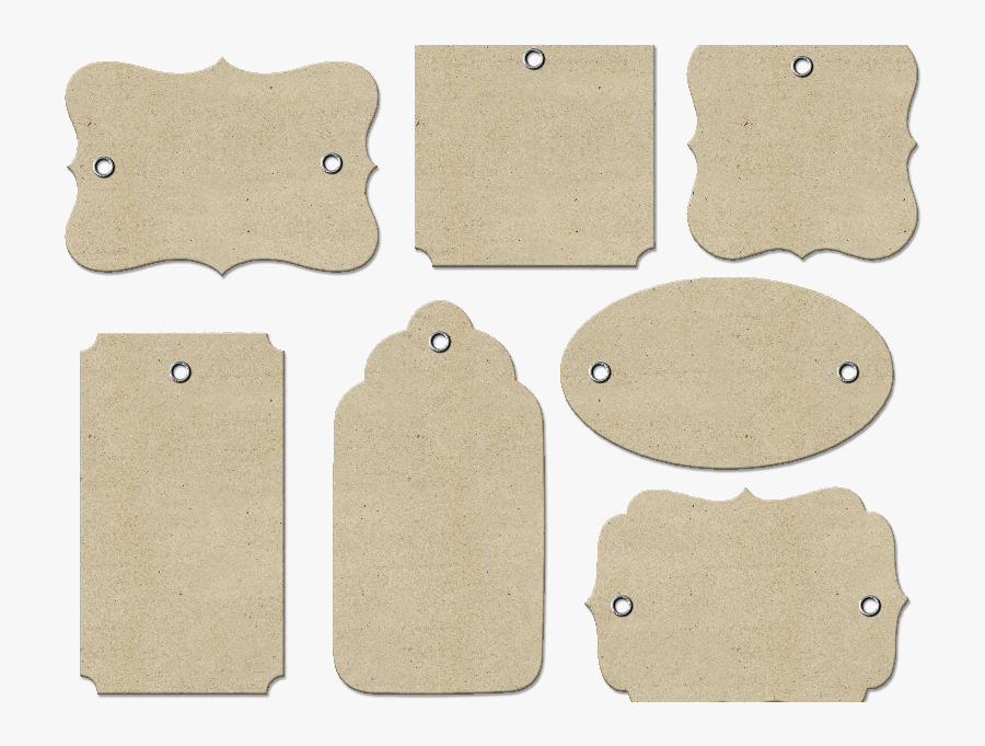 Gift Tags Png Free - Label, Transparent Clipart