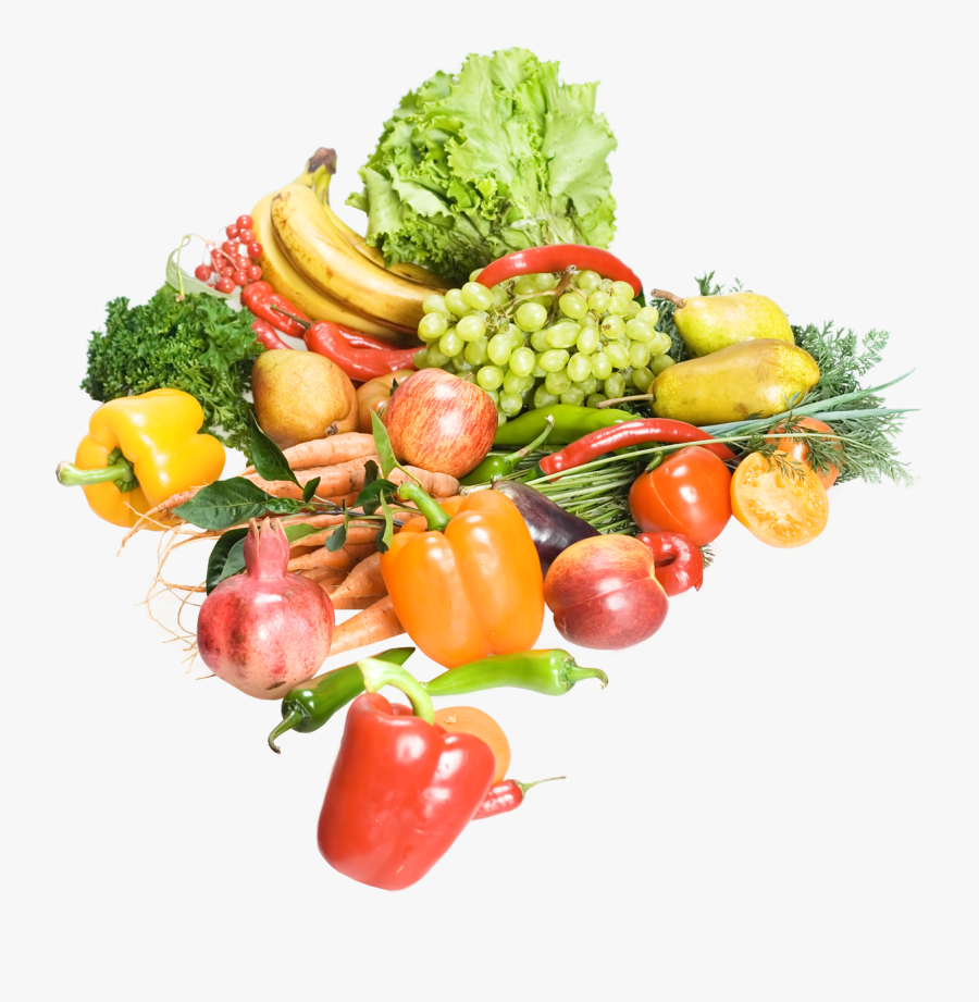 Fruits And Vegetables Png Image - Fruits And Vegetables .png, Transparent Clipart
