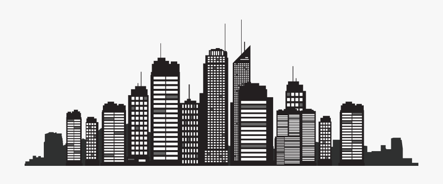 New York City Silhouette Skyline Cityscape - New York City Silhouette Png, Transparent Clipart