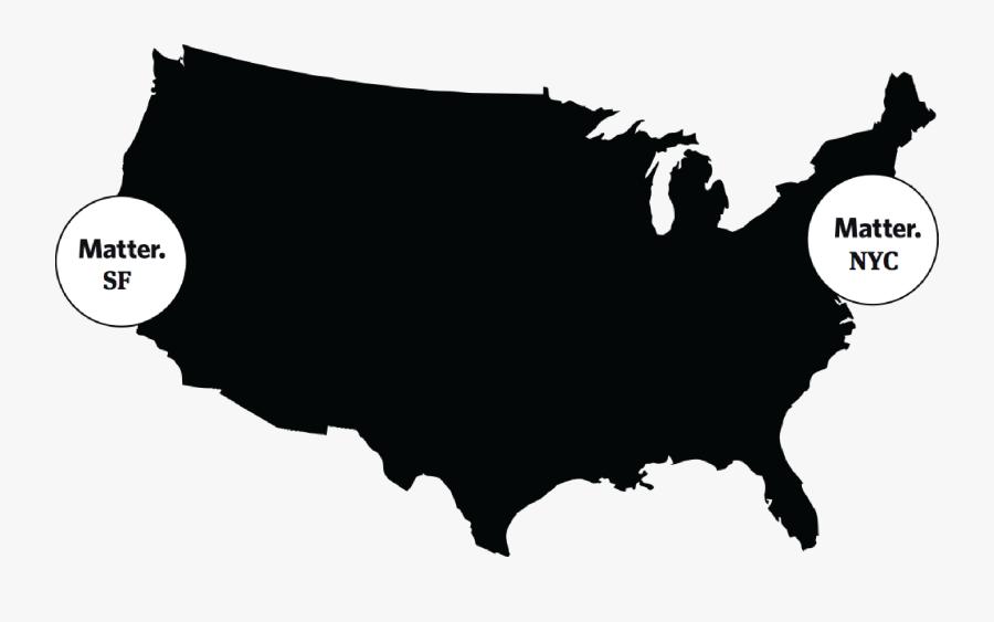 Us Governor Map 2008, Transparent Clipart