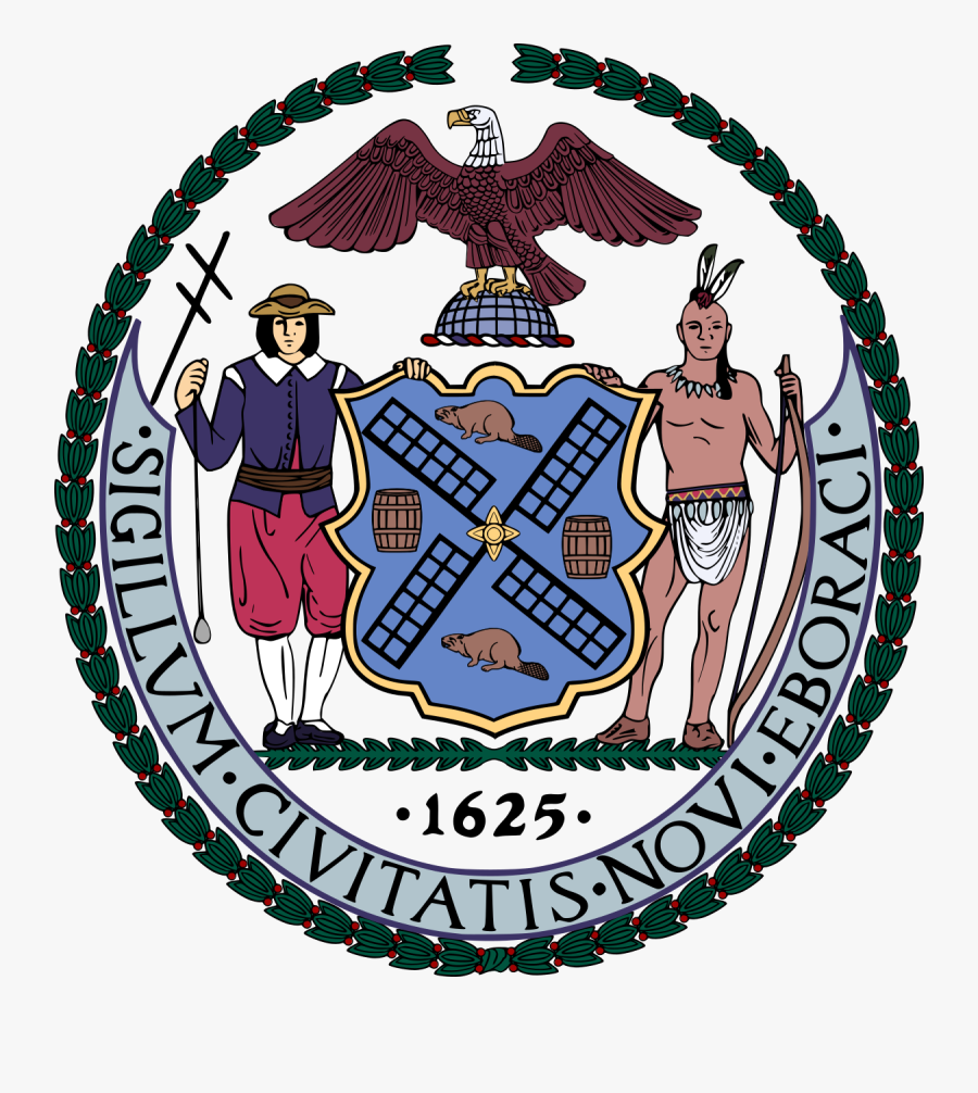 New York City Wappen, Transparent Clipart