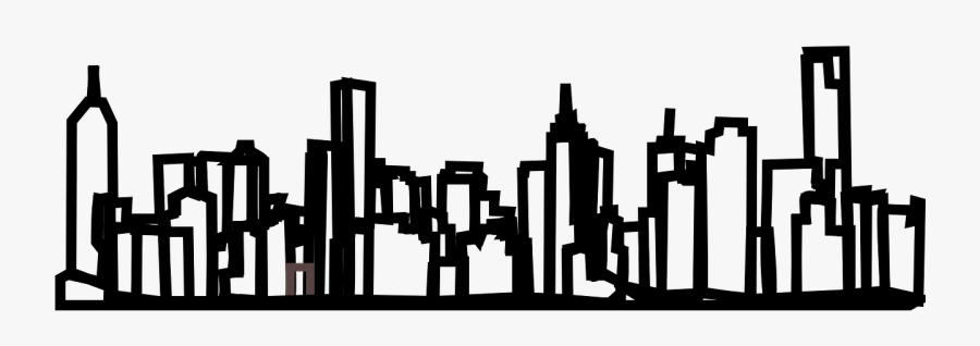 Outline Of Melbourne City, Transparent Clipart