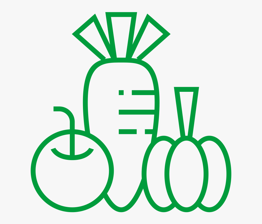 Fruit And Veg - Organic Food Clipart, Transparent Clipart