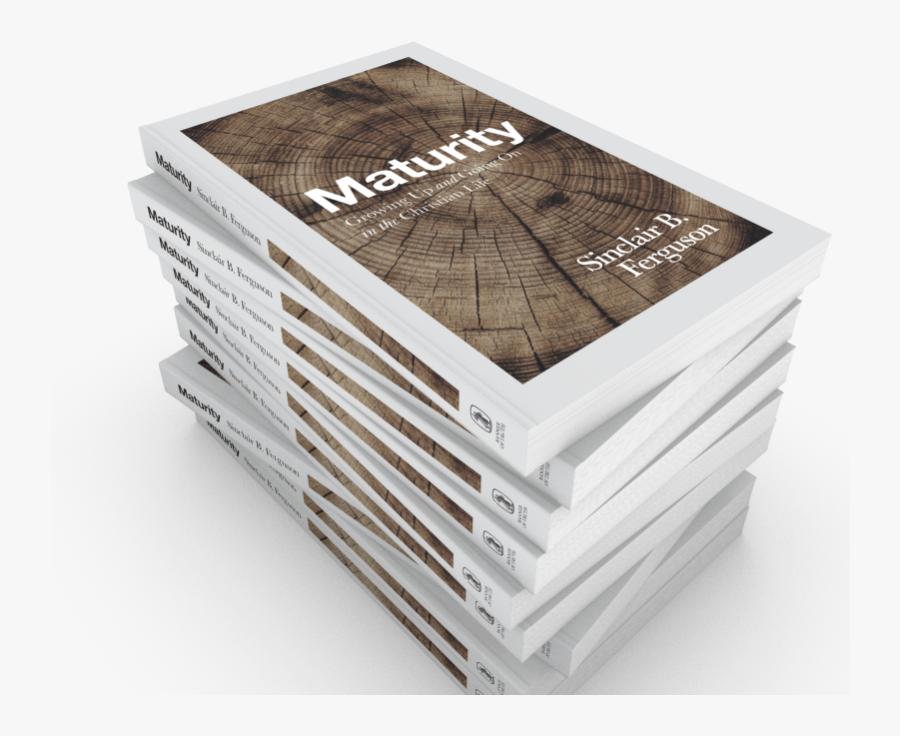 Transparent Book Stack Clipart - Plywood, Transparent Clipart