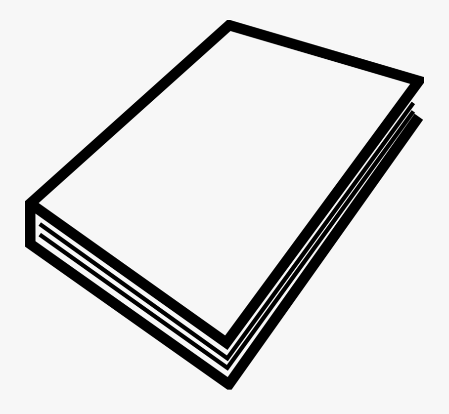 Paper, Book, Stack, Blank, Sheets, White, Booklet - Closed Book Clip Art, Transparent Clipart