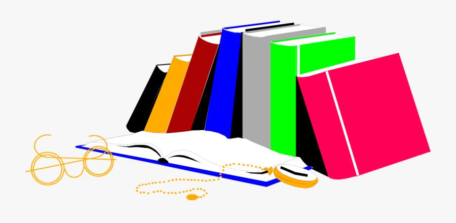 Dictionary Clipart Pile - School Notes, Transparent Clipart