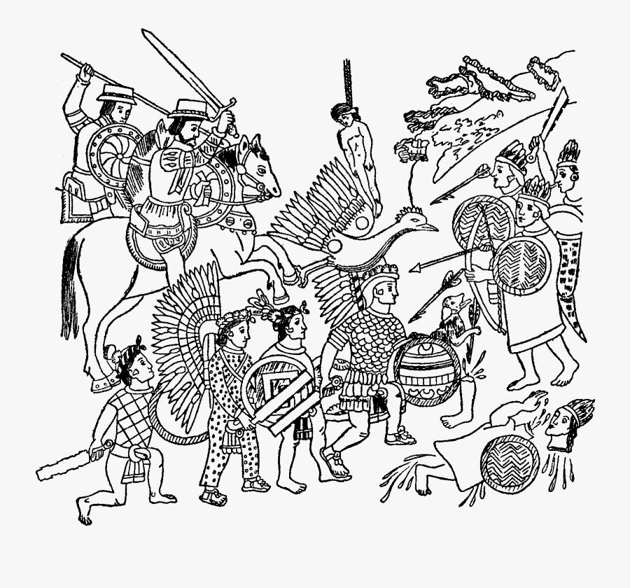 Aztec god, color version Clipart | k20967422 | Fotosearch