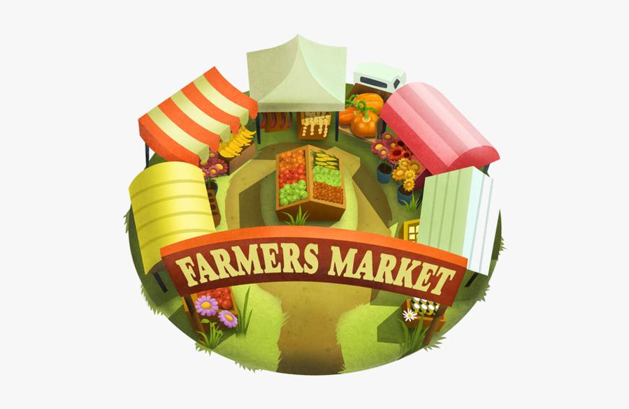Farmers Market Clipart Png, Transparent Clipart