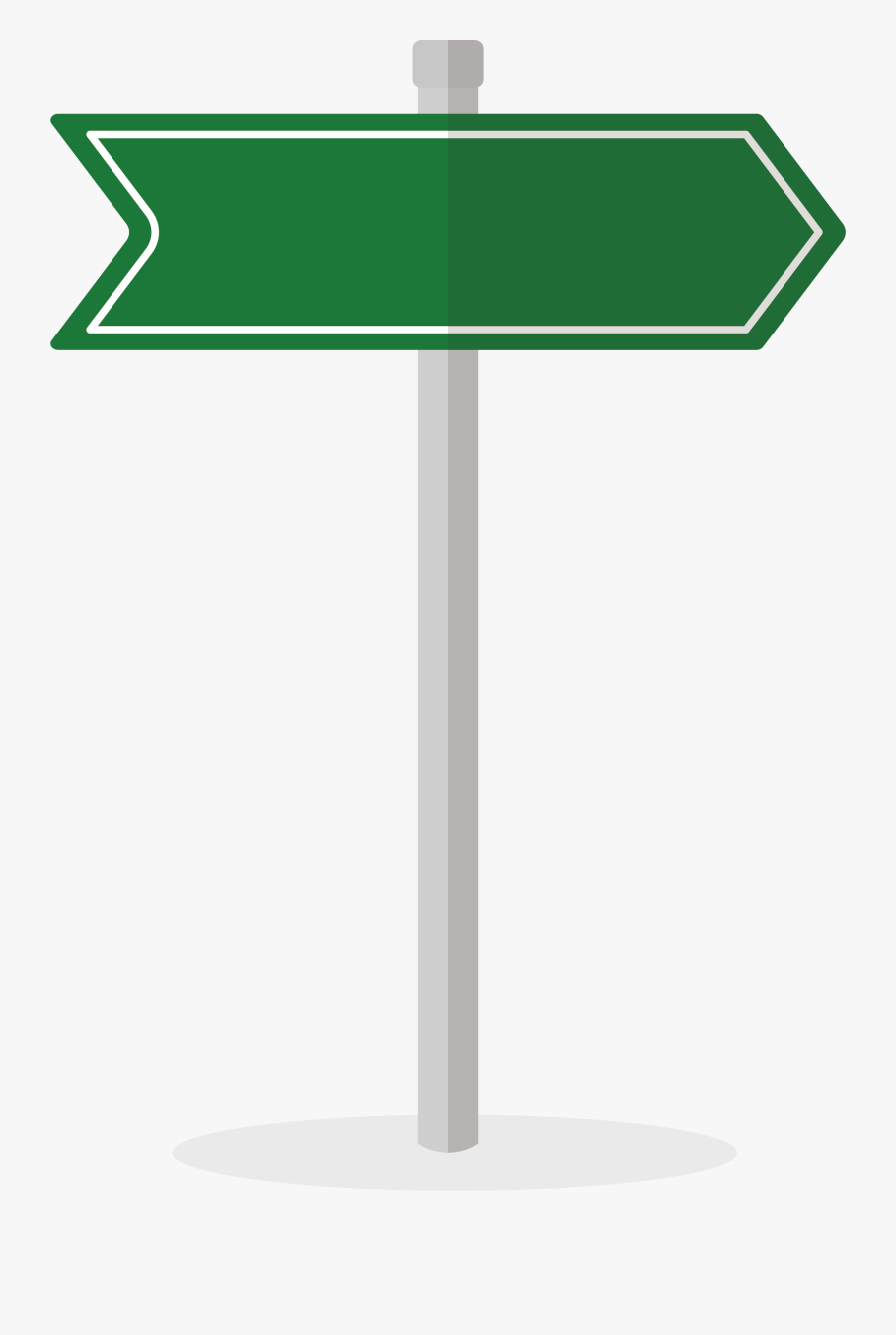 Traffic Sign Arrow Euclidean Vector - Transparent Background Road Sign Png, Transparent Clipart