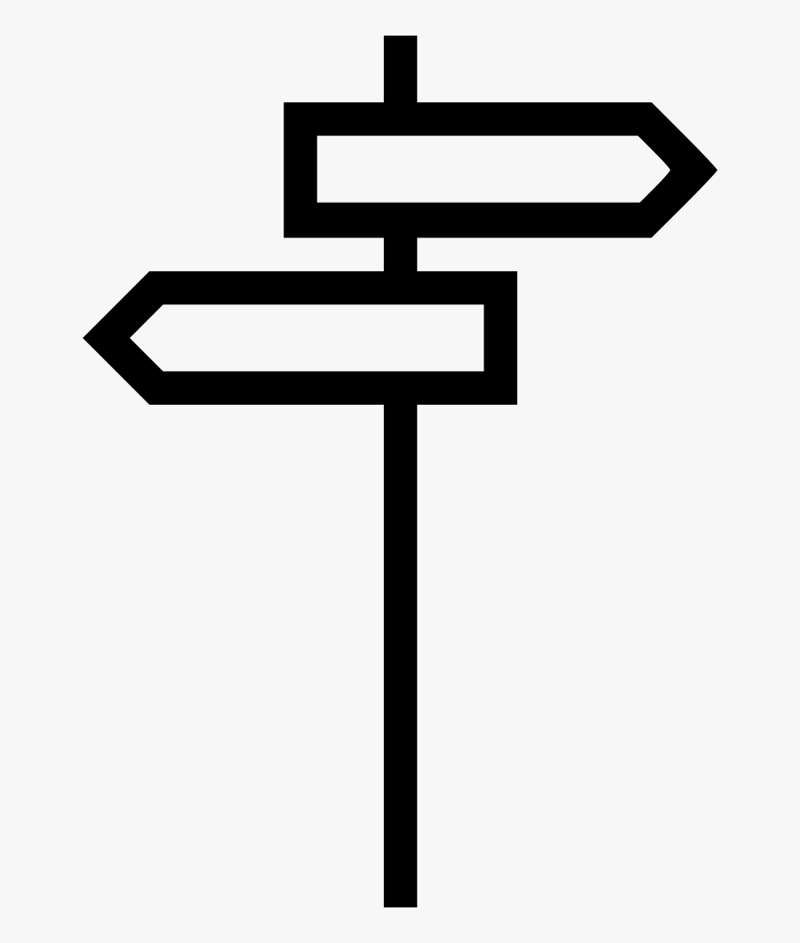 Direction Sign Arrow Back Next Street Traffic Comments - Street Direction Clipart Png, Transparent Clipart