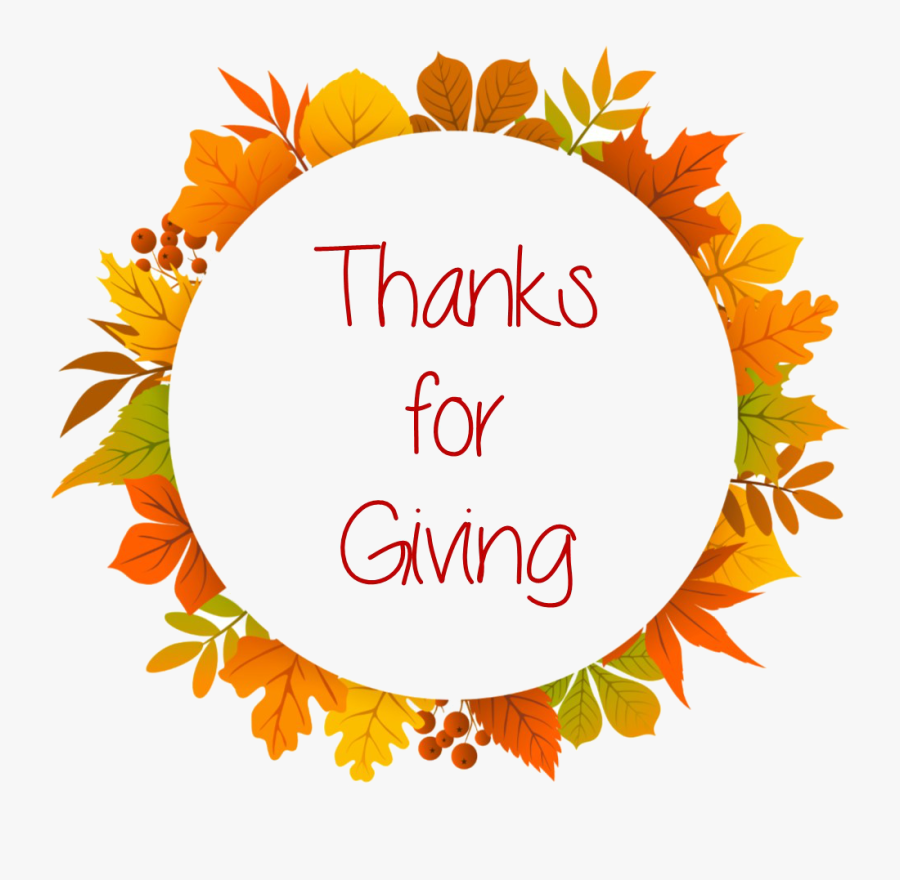 Thanksgiving Circle Border Free Transparent Clipart Clipartkey