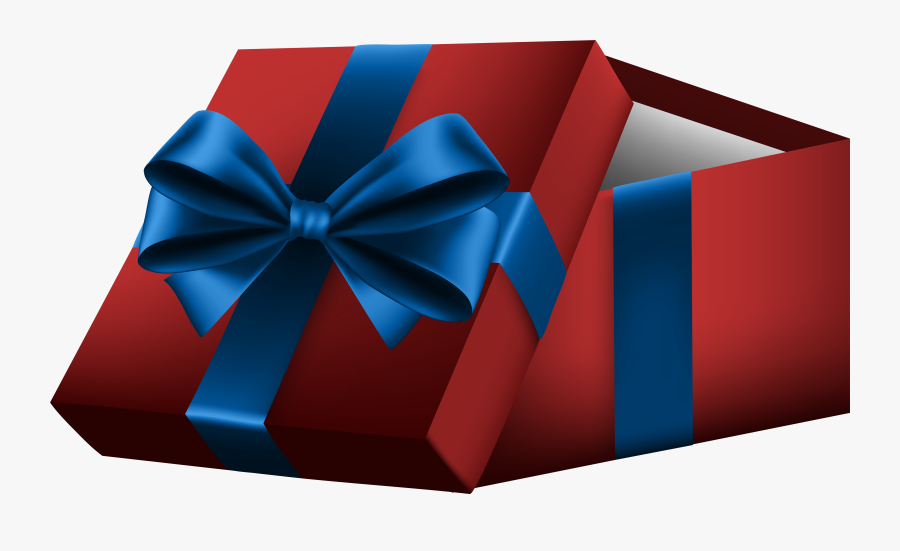 Red Gift Box Png Clipart , Png Download - Gift Paper Box Png, Transparent Clipart
