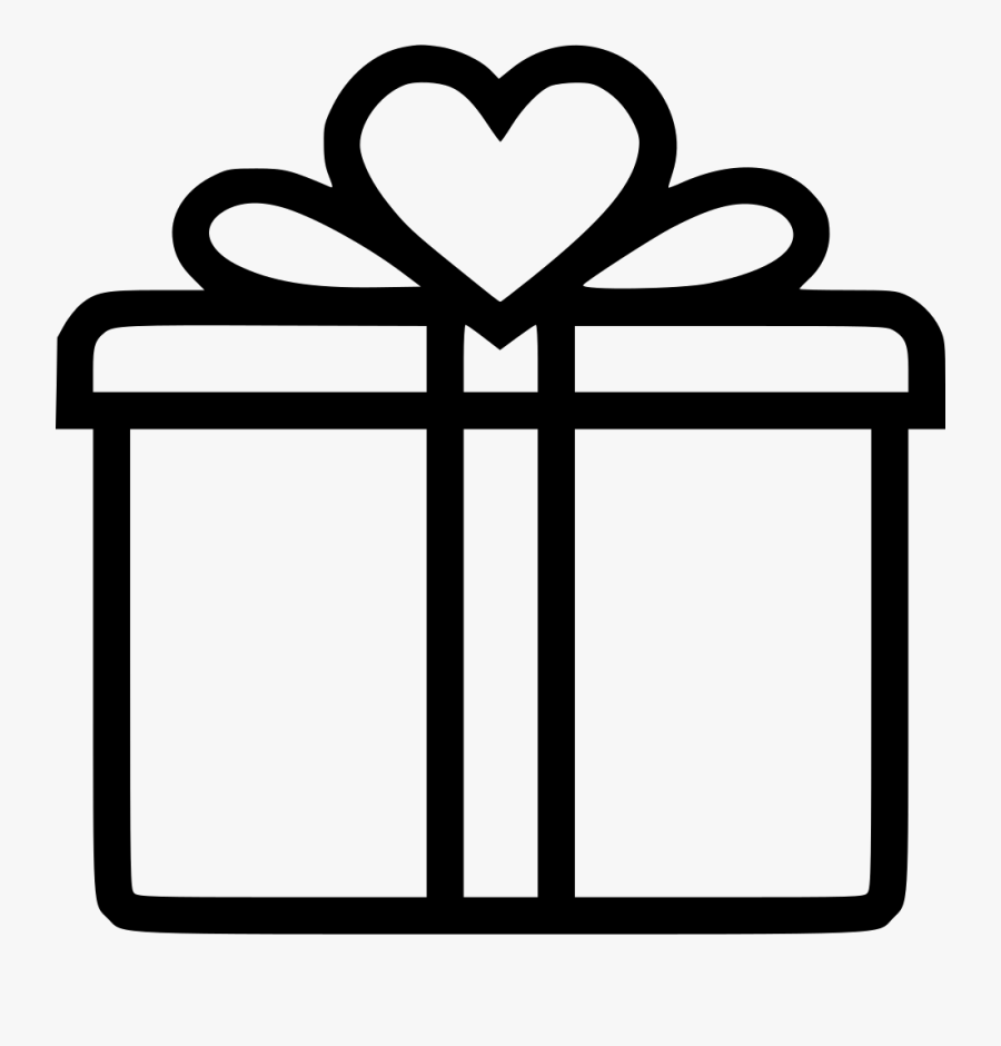 Gift Box Icon Png, Transparent Clipart