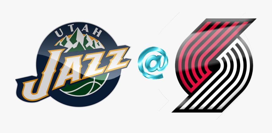 2018 Clipart Game - Utah Jazz Basketball Logo, Transparent Clipart