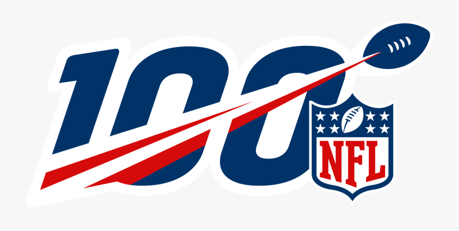 Nfl 100 Year Logo Clipart , Png Download - Nfl 100th Anniversary Logo, Transparent Clipart