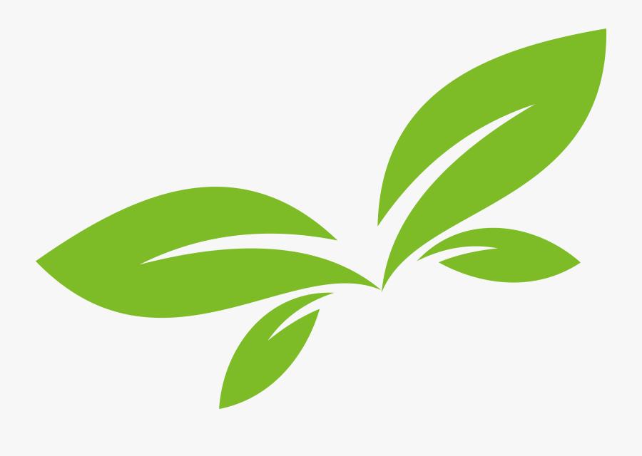 Leaf Green Euclidean Vector Design Logo Clipart - Vector Logo Leaf Png, Transparent Clipart