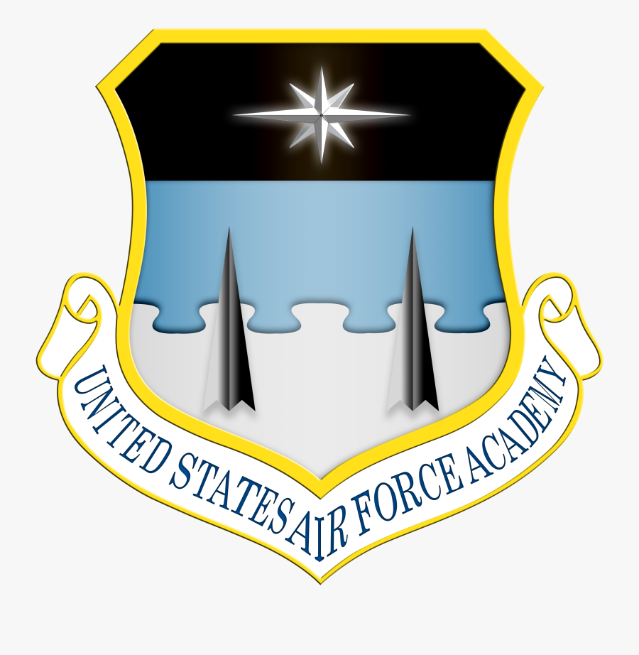 Shield Usafa - - United States Air Force Academy Seal, Transparent Clipart