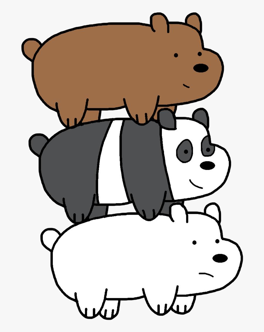 Clip Art Polar Bears Drawing - Grizzly Ice Bear Panda, Transparent Clipart