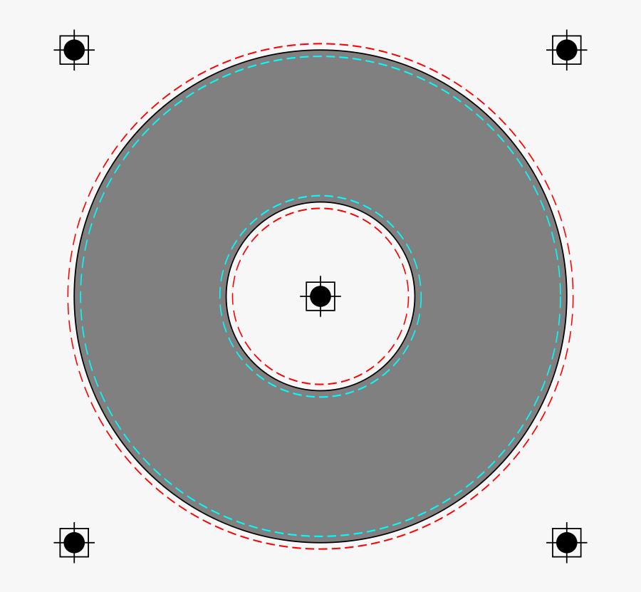 Cd Label Template Png Images Transparent Png - Moon Worksheets, Transparent Clipart