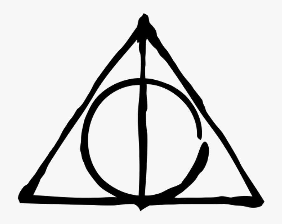 Harry Potter Png Tumblr Transparent Background - Harry Potter Deathly Hallows Symbol, Transparent Clipart