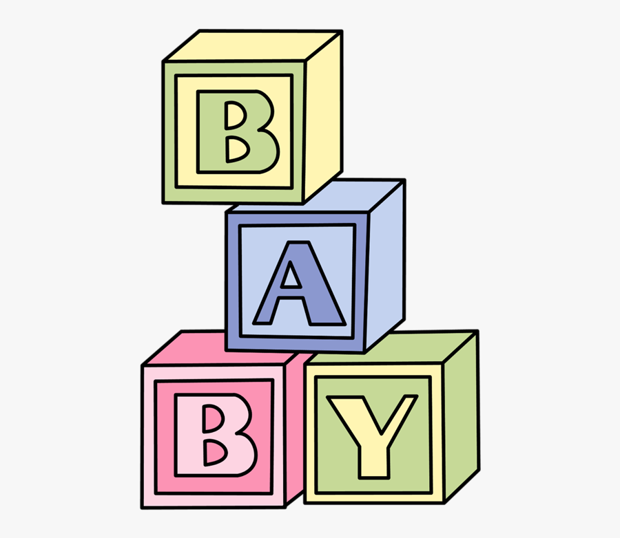 Transparent Background Baby Blocks Clip Art, Transparent Clipart