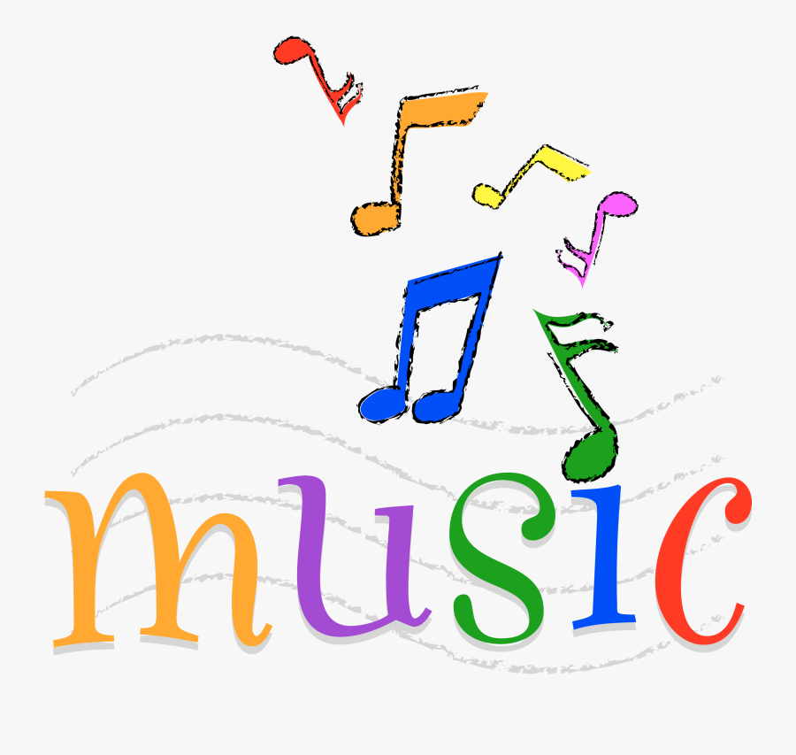Colorful Happy Music - Colorful Printable Music Notes, Transparent Clipart