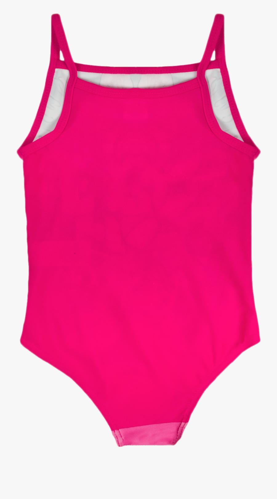 Pink Swimming Suit - Swimsuit, Transparent Clipart