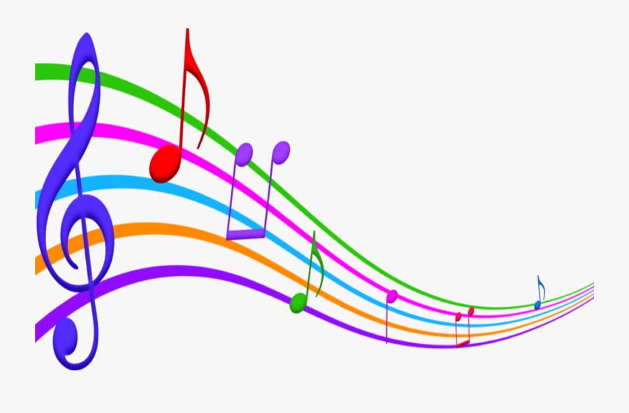 #music #notes #scale #colorful #musicnotes #natnat7w - Clipart Color Musical Notes, Transparent Clipart