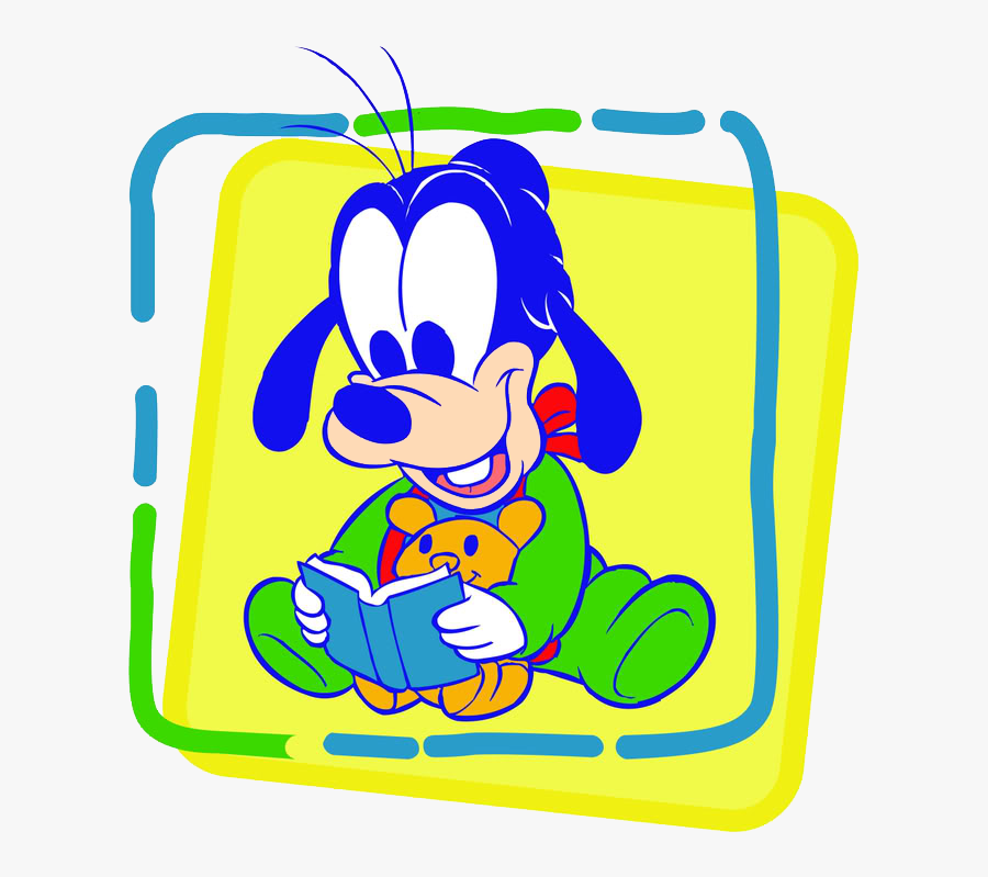 Baby Goofy Clipart - Baby Mickey Mouse And Minnie, Transparent Clipart