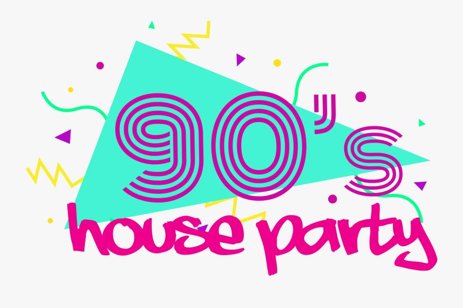 90s Logo 3x - 90's Party Png, Transparent Clipart